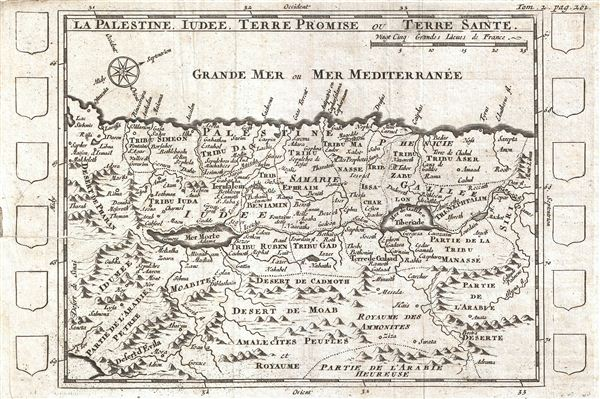 La Palestine, Iudee, Terre Promise ou Terre Sainte. - Main View
