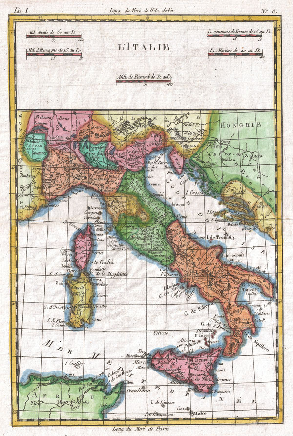 L'Italie. - Main View