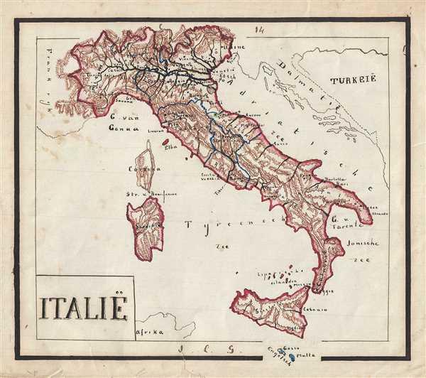 Italie. - Main View