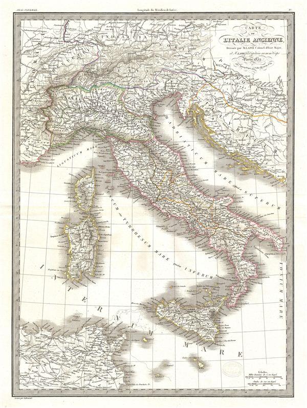 Catre de l'Italie Ancienne.