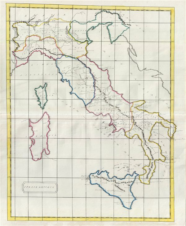 Italia Antiqua. - Main View