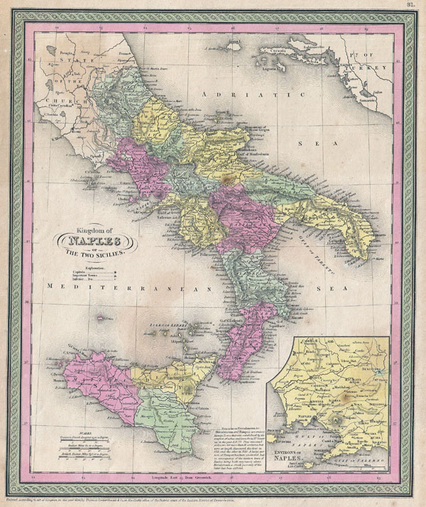 Kingdom of Naples or The Two Sicilies.