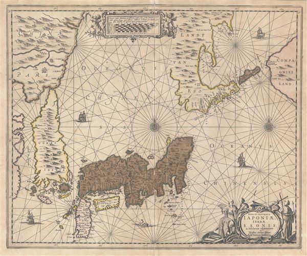 Nova et Accurata Japoniae Terrae Esonis ac Insularum adjacentium.