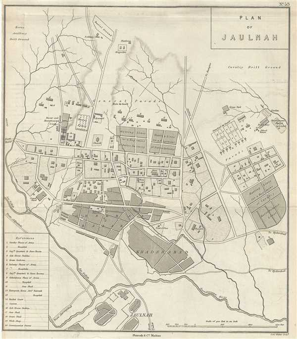 Plan of Jaulnah.