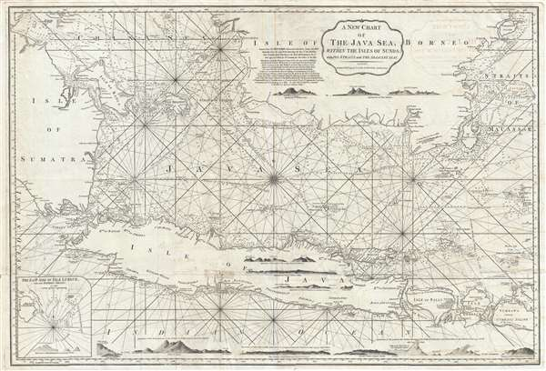 A new chart of the java sea within the isles of sunda with its a new chart of the java sea within the isles of sunda with its publicscrutiny Images