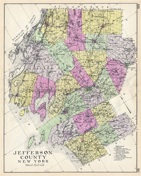 Jefferson County New York. - Main View