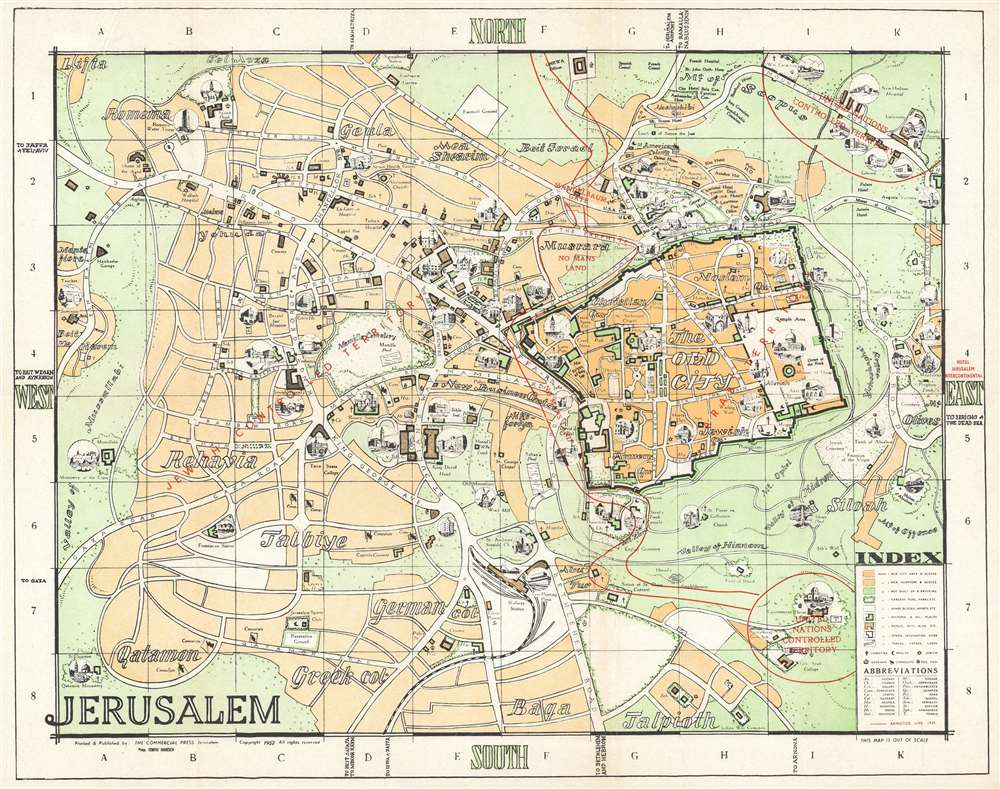 Jerusalem. - Main View