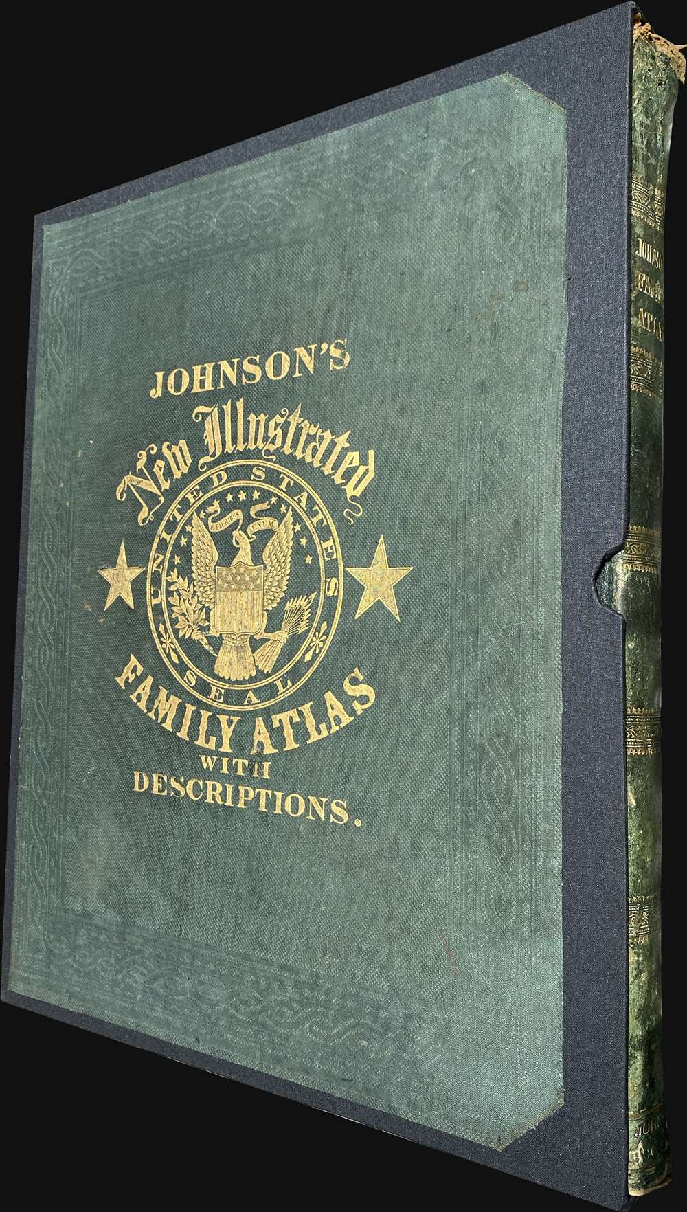 Johnson's New Illustrated (Steel Plate) Family Atlas - Alternate View 1
