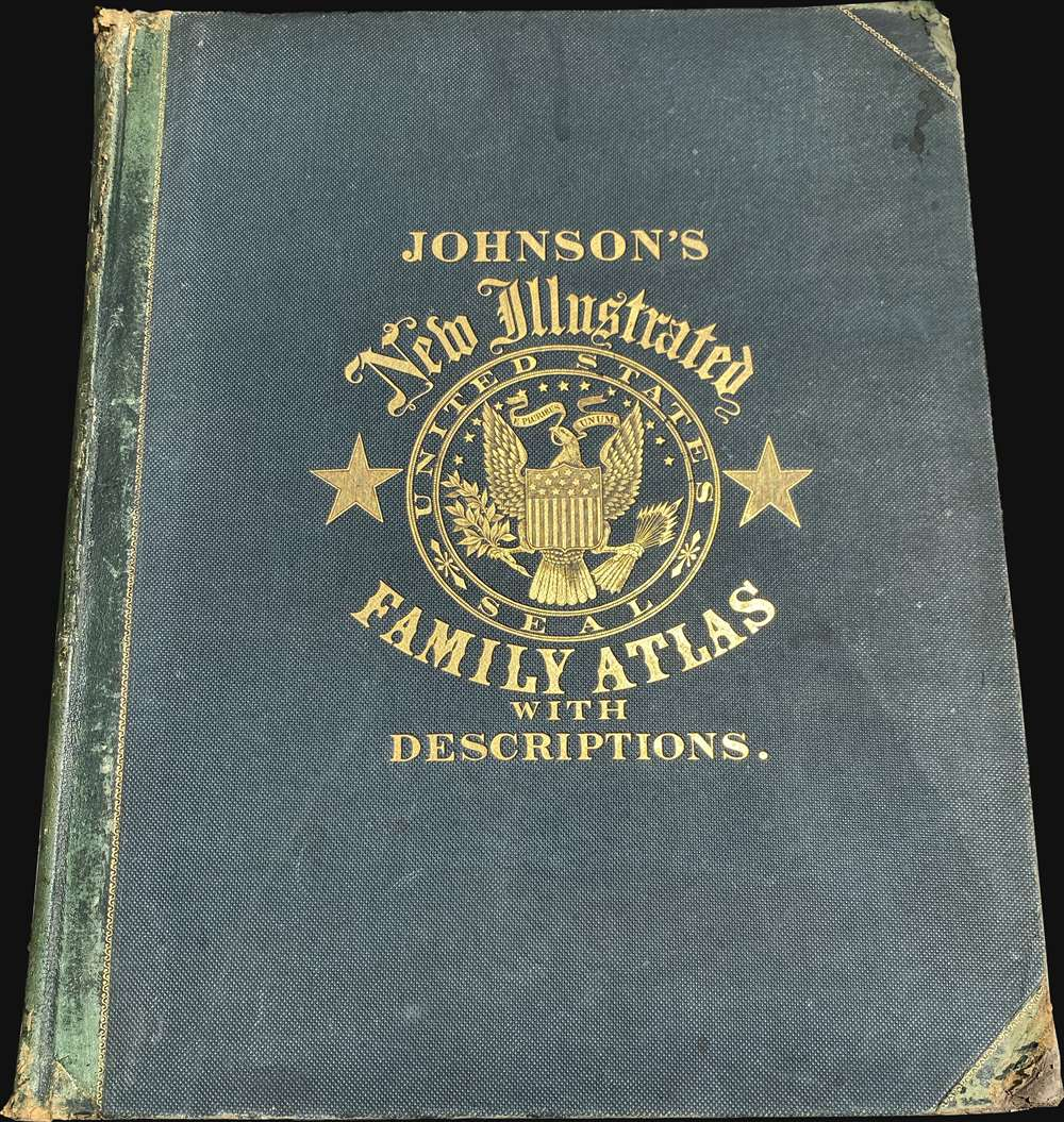 Johnson's New Illustrated (Steel Plate) Family Atlas - Alternate View 6