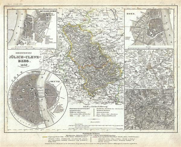 Rheinprovinze Julich-Cleve-Berg.