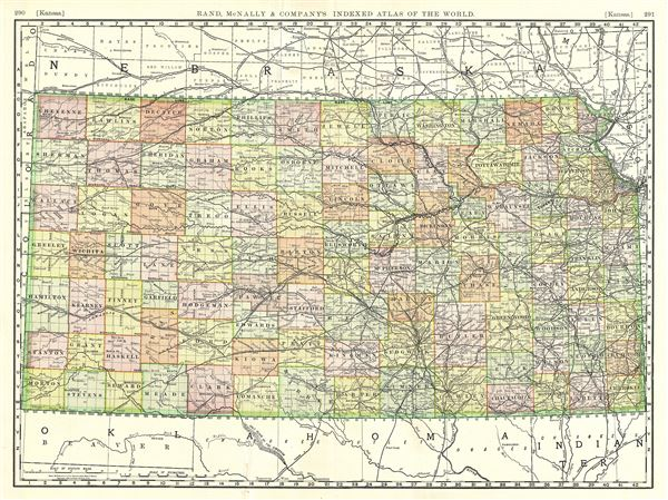 Kansas.: Geographicus Rare Antique Maps on map of all georgia cities, map of colorado and nebraska borders, map of indiana area, map tilden nebraska, map of montana, map of eastern wyoming,