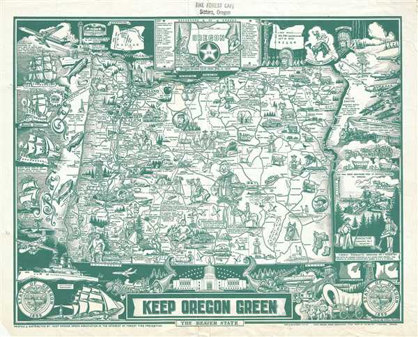 Keep Oregon Green. The Beaver State.