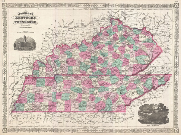 Johnson's Kentucky and Tennessee.