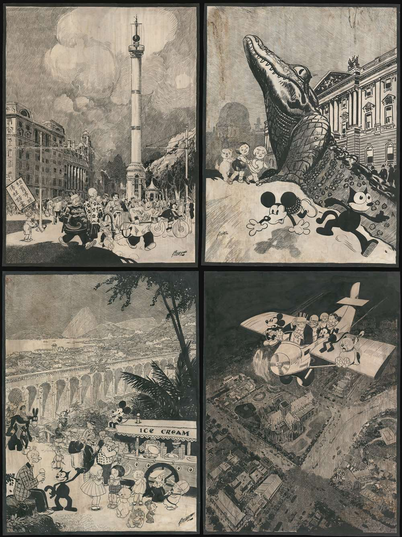 [Biedermann / King Features / Disney Original Calendar Art]