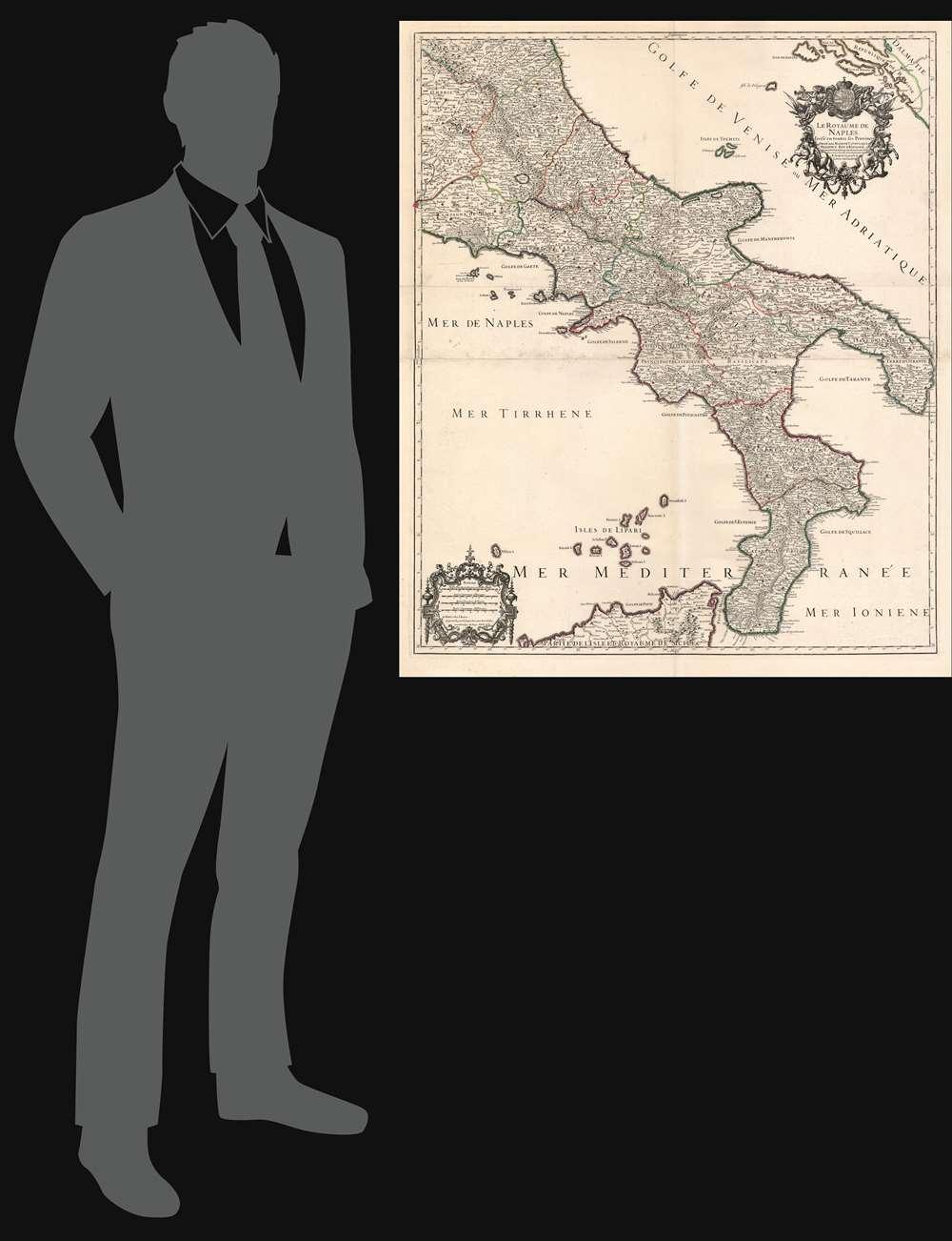 Le royaume de Naples divisé en toutes ses provinces... - Alternate View 1