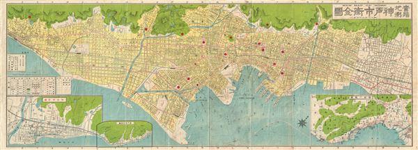 New Map of Kobe. - Main View
