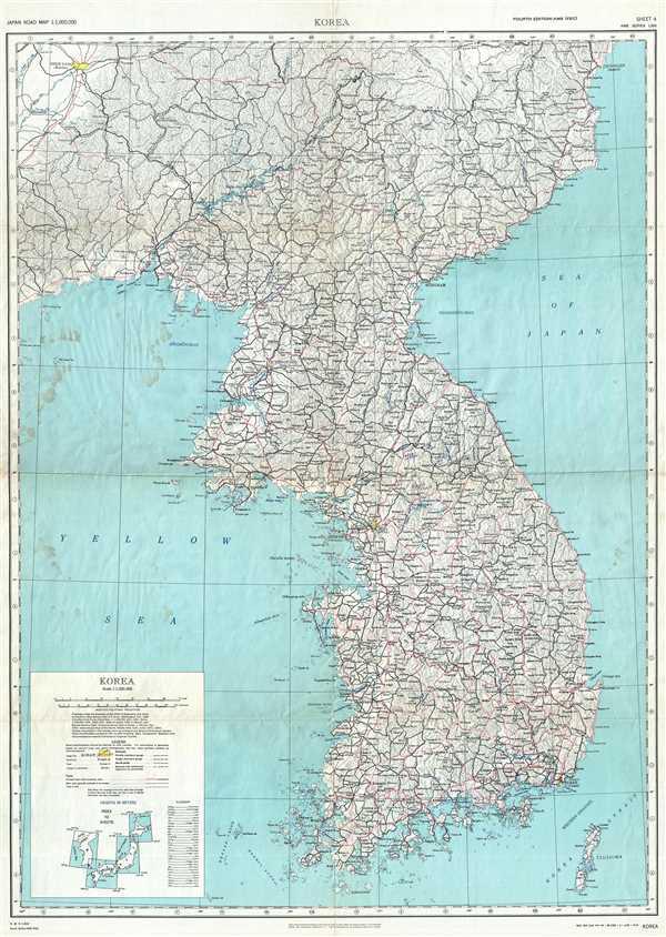 Korea. AMS Series L302 Sheet 4.