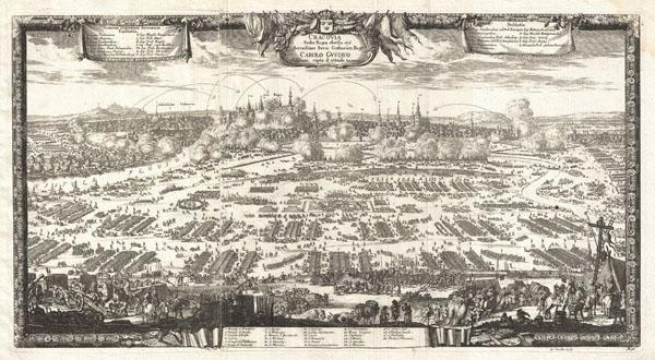 Cracovia Sedes Regia obsessa età Serenissimo Sveo: Gothorum Rege Carolo Gustavo deditione capta d: 8 Octobr. 1655.