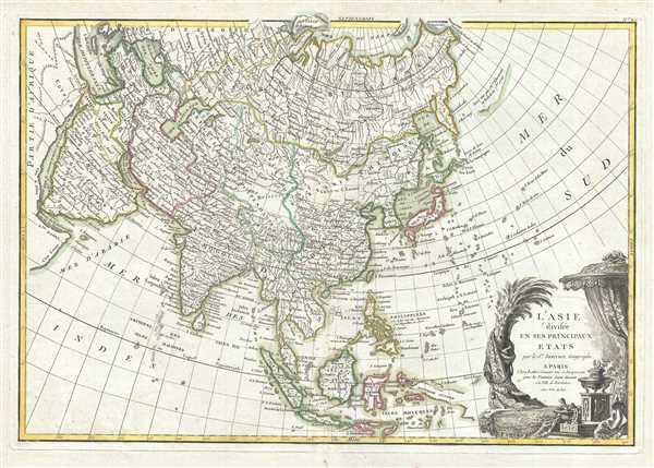 l'Asie divisee en ses Principaux Etats.