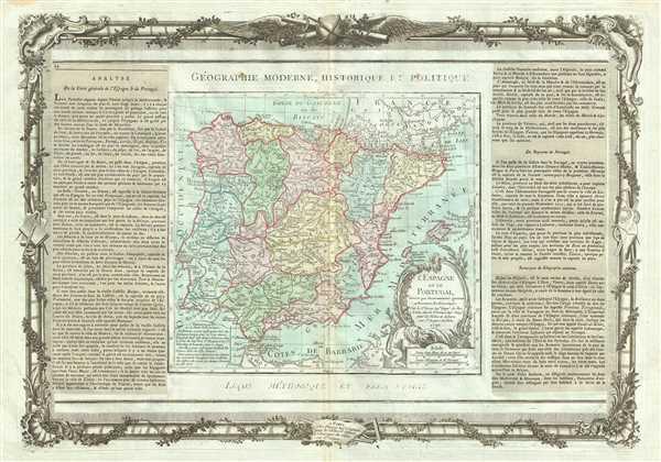 L'Espagne et le Portugal. - Main View