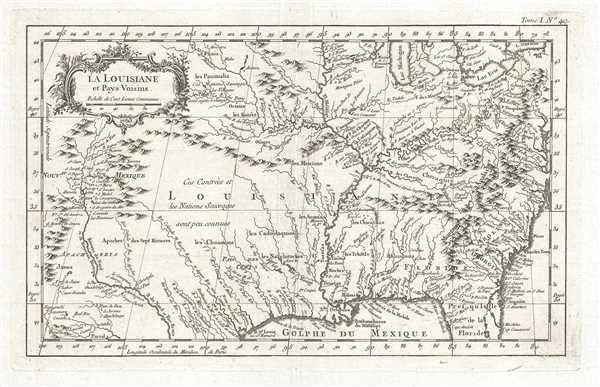 La Louisiane et Pays Voisins.