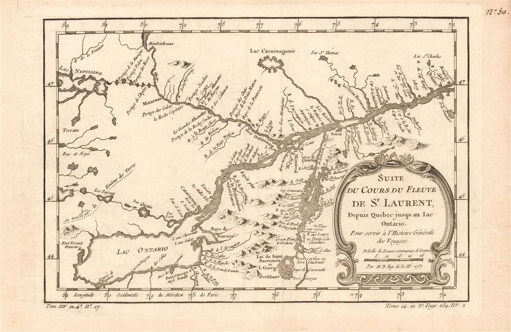 Suite Du Cours Du Fleuve De St. Laurent: Depuis Quebec jusqu'au Lac Ontario. - Main View