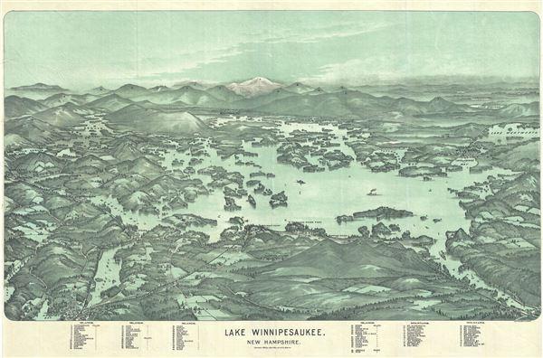 Lake Winnipesaukee, New Hampshire. - Main View
