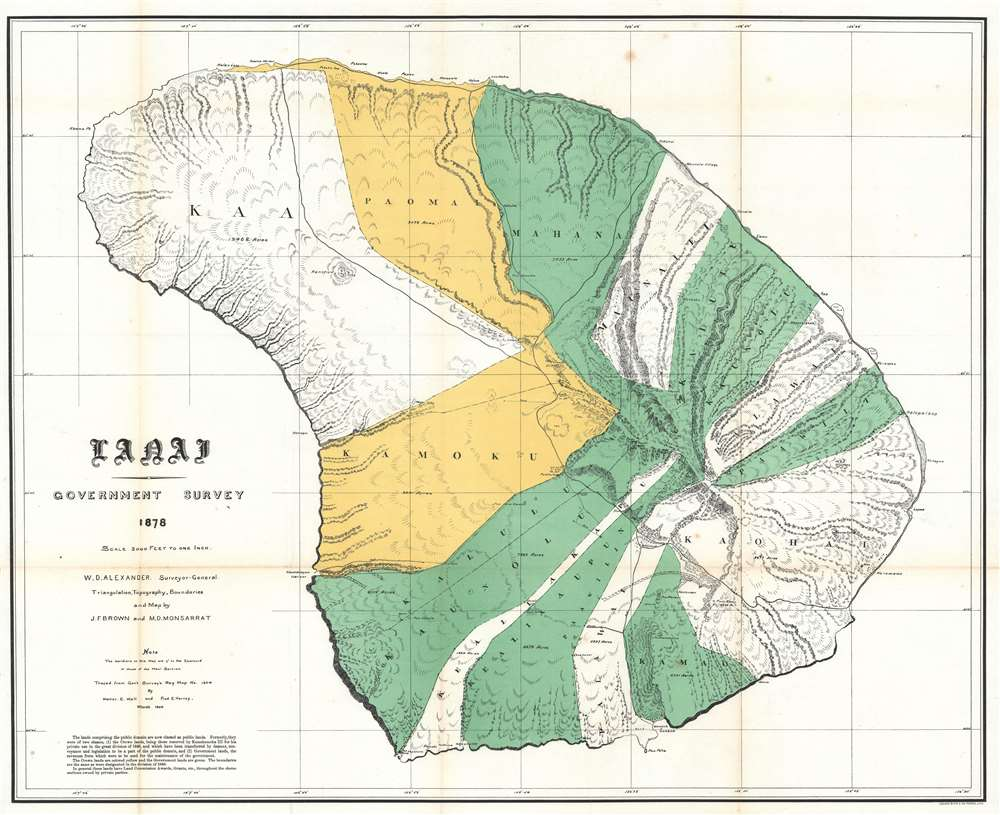 Lanai Government Survey. - Main View