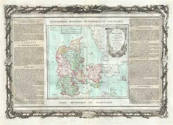 Le Danemark divise par Provinces et Dioceses sous une Metropole.
