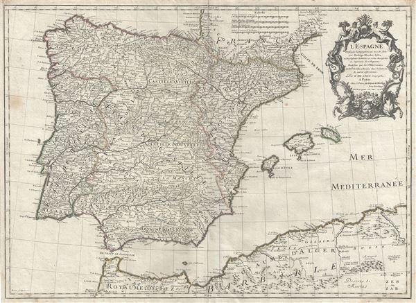 L'Espagne. - Main View