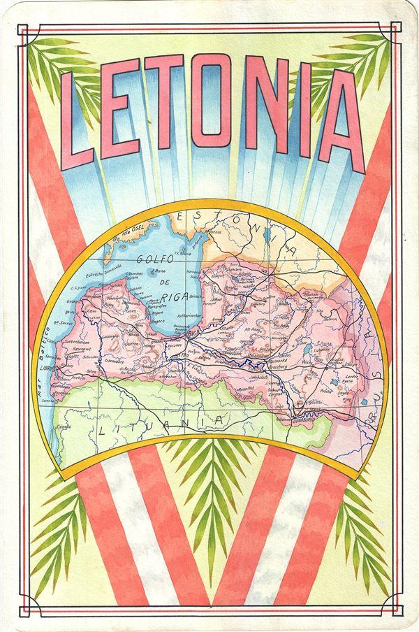 Letonia.