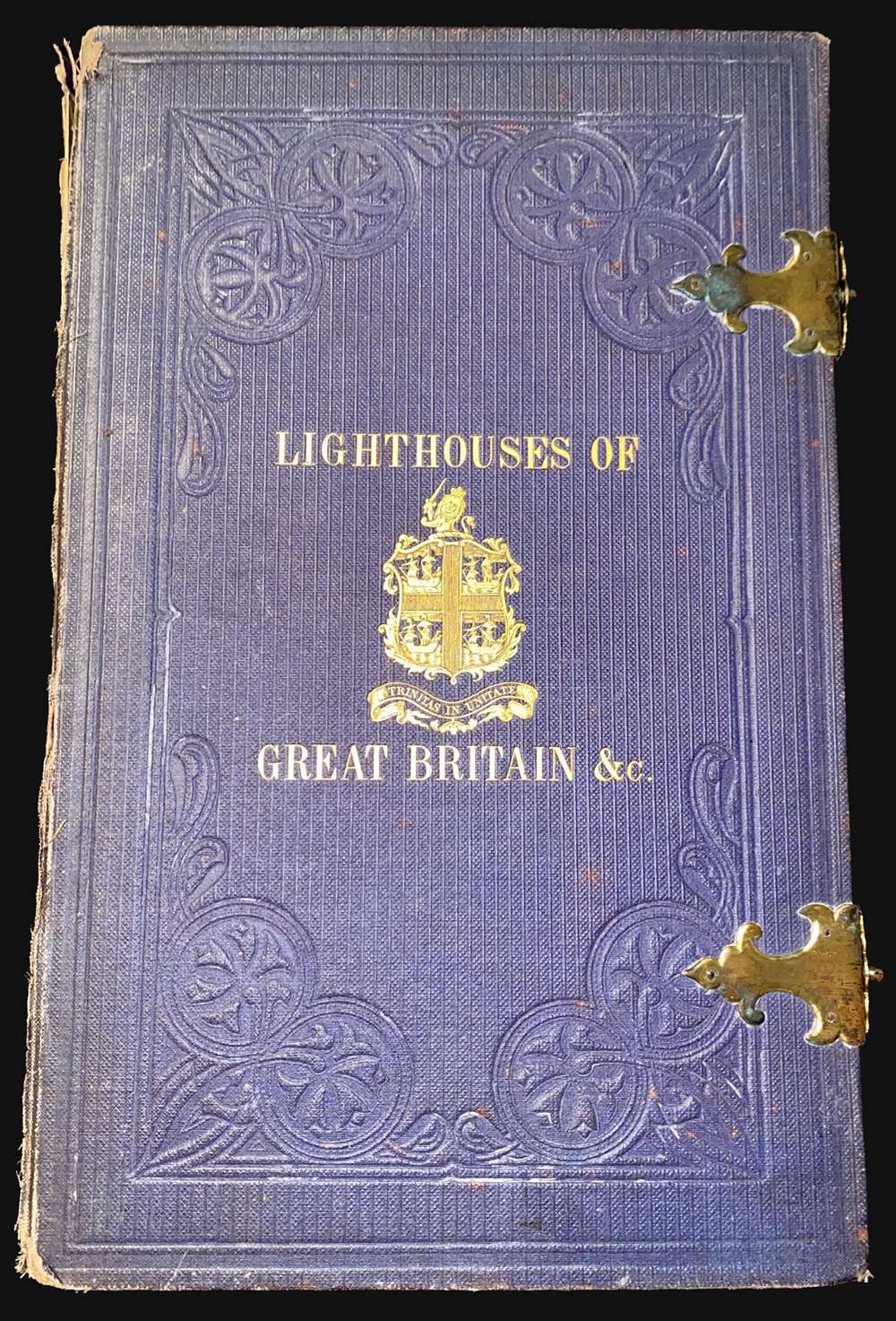 A Chart Exhibiting the Lighthouses and Light Vessels on the Coasts of Great Britain and Ireland and also those on the N.W. Coasts of Europe between Ushant and Bergen. Published by order of the Honble the Corporation of Trinity House, constructed by A. G Findlay. - Alternate View 1