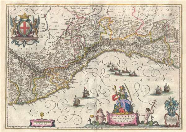 Liguria, ò Stato della Republica di Genova