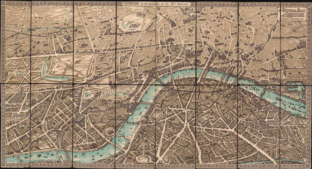 The Pictorial Plan of London. - Main View