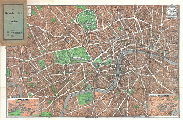 The Pictorial Plan of London.