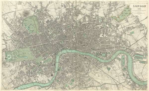 London 1843. - Main View