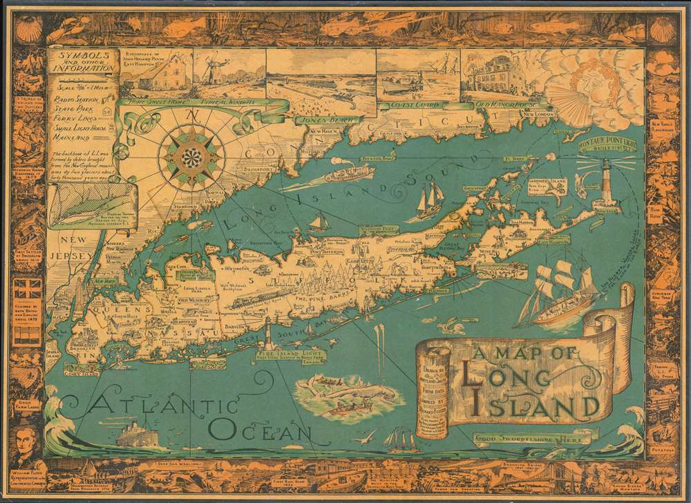 A Map of Long Island. - Main View