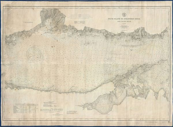 Plum Island To Stratford Shoal Long Island Sound. - Main View
