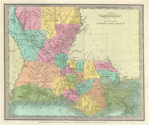 Louisiana Geographicus Rare Antique Maps