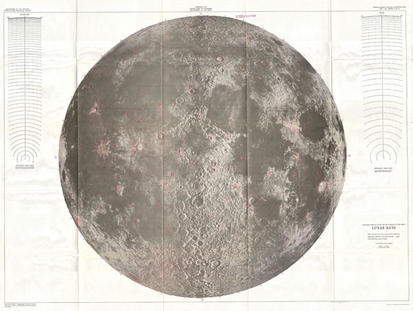 Engineer Special Study of the Surface of the Moon, Lunar Rays.