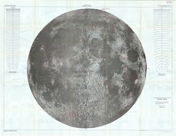 Engineer  Special Study of the Surface of the Moon, Lunar Rays. - Main View