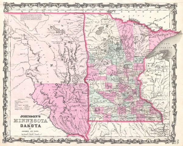 Johnson's Minnesota and Dakota.