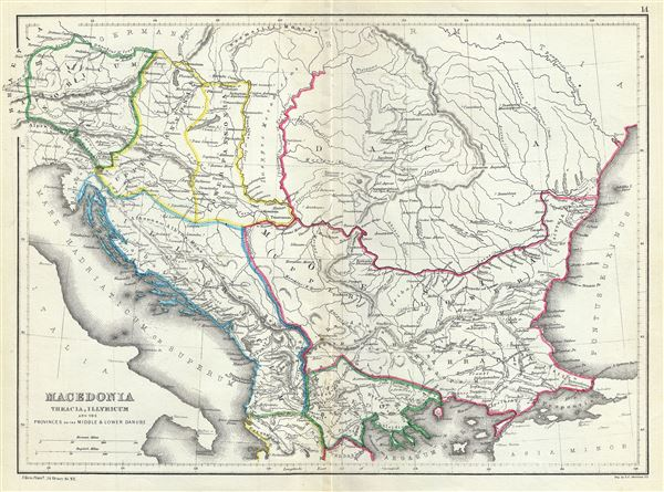 Macedonia Thracia, Illyricum and the Provinces on the Middle and Lower Danube. - Main View
