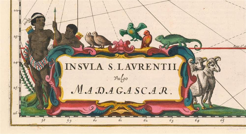 Insula S. Laurentii, vulgo Madagascar. - Alternate View 1