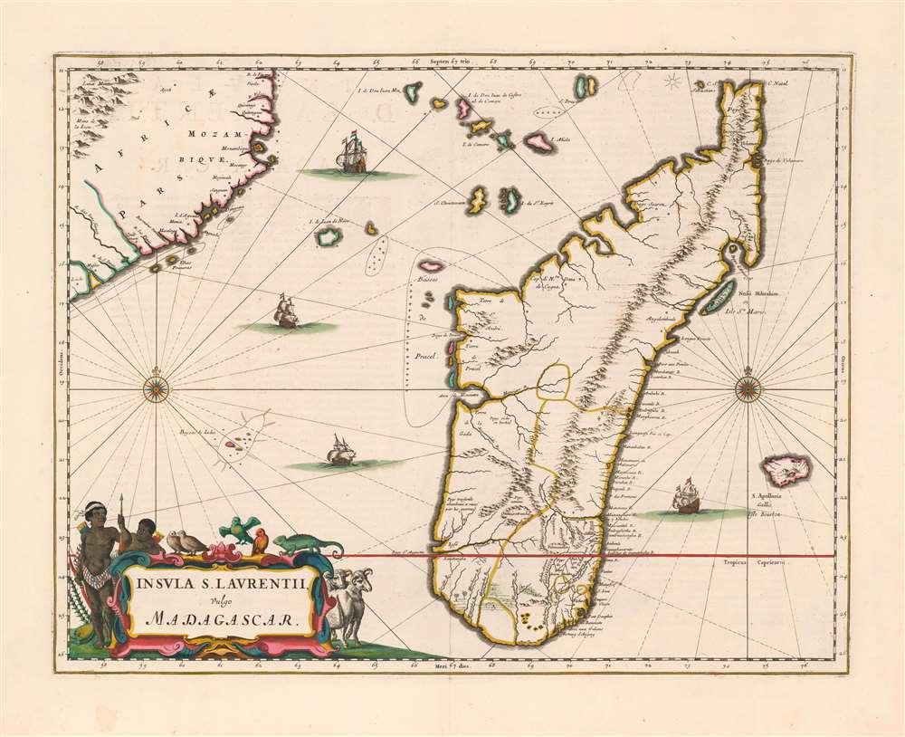 Insula S. Laurentii, vulgo Madagascar. - Main View
