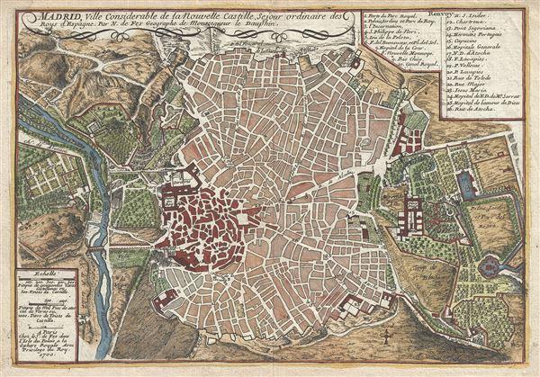 Madrid, Ville Considerable de la Nouvelle Castille.