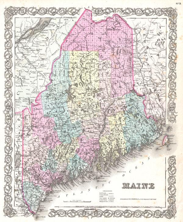 Maine. - Main View