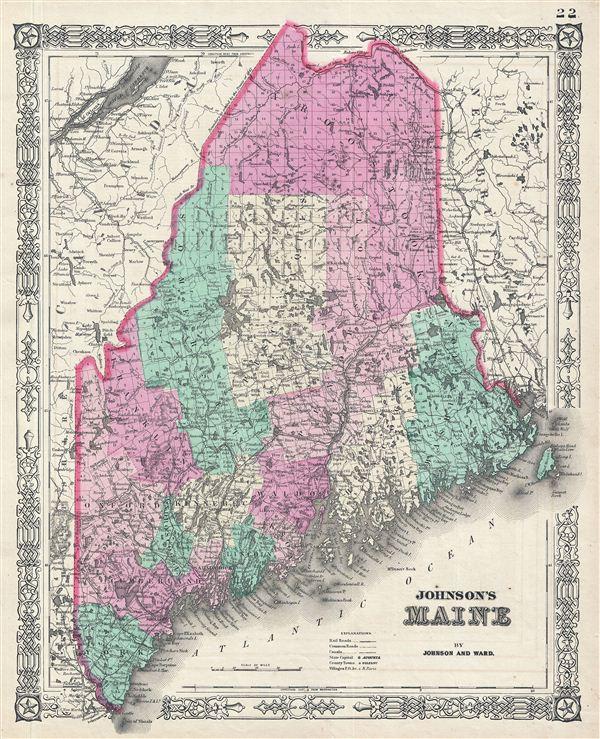 Johnson's Maine. - Main View