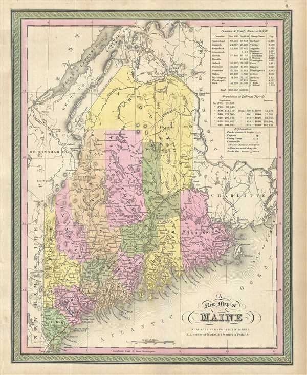 A New Map of Maine.