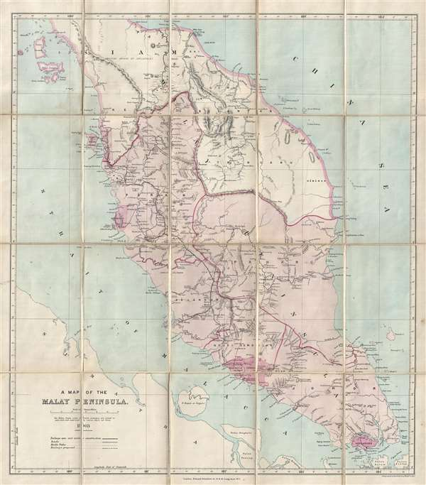 A Map of the Malay Peninsula.: Geographicus Rare Antique Maps Malay Peninsula Map on sumatra map, indus river map, malay archipelago, india map, sabah map, strait of malacca, cuba map, arabian peninsula, philippines map, malaysia map, east indies, indonesia map, singapore map, gobi desert on map, east timor map, japan map, peninsular malaysia, persian gulf map, cambodia map, malay language, malay people, laos map, kra isthmus, great sandy desert map, borneo map, cape of good hope map, java on map, maldives map,